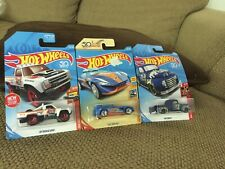 New in Package Set of THREE Hot Wheels 50
