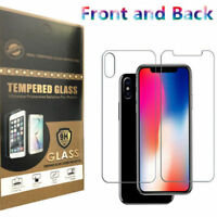 Baseus 9H For iPhone Xs Max/Xs Front & Back Tempered Glass Screen Protector Film