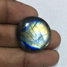 Mejor oferta Fuego Azul Esmeralda Labradorita Cabujón 100/% de piedras preciosas naturales JG77
