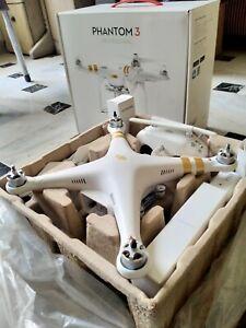 DJI Phantom 3 Professional Quadcopter with 4K Camera and 3-Axis Gimbal Box Pro