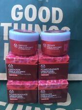 THE BODY SHOP POMEGRANATE FIRMING DAY CREAM 50ml x 4 ANTI-AGEING NEW RRP £76