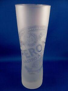 CLEARANCE! Retro Italy PERONI NASTRO AZZURRO Sahm Germany BEER GLASS Breweriana