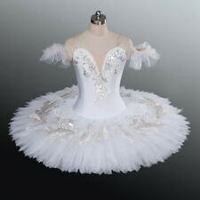 Professional Odette White Swan Classical Ballet Tutu Costume MTO Custom Fit YAGP
