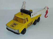 1974 Matchbox ( Super Kings)  K -6/11 , Pick Up Truck , Yellow , Loose