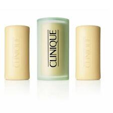 Clinique Facial Mild Soap Face Wash  Dish 150g  3 Little Bar Soap