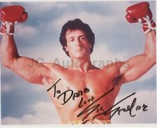 """Sylvester Stallone - Iconic Action Actor: """"Rocky"""" - Signed 8x10 Photograph"""