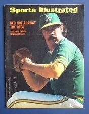 CATFISH HUNTER Sports Illustrated October 23, 1972 NO LABEL