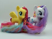 MY LITTLE PONY FLUTTERSHY and RARITY LOT 2013 STYLING STRANDS G4 FASHION PONY