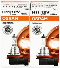 H11 Birnen Lampen Osram Scheinwerfer Halogen Leuchte Duo 55W Birne Auto Original