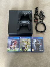 PlayStation 4 500gb, X2 Wireless Dualshock 4 Genuine Controllers with 3 Games