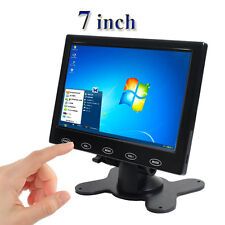 "7"" LCD HD Screen Remote Control HDMI for Home CCTV Monitor Security PC Camera"