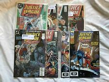 Lot of 7 Justice League Europe (1989) #2-7 9 15 32 VF Very Fine