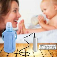 Baby Bottle Warmer Heater Portable Travel Kids Milk Water Heating Insulated Bag