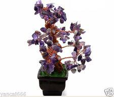 AAA+++ Lucky tree!!! Natural pretty Purple crystal gem tree 348g