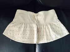 Mini Skirts for Simply Cute Girls-Embroidered Stone in  S,M,L,XL  100% cotton!