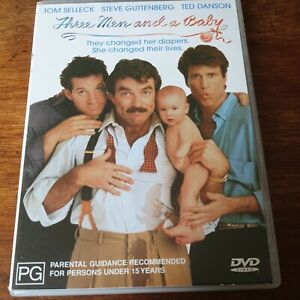 Three Men and a Baby DVD R4 Like New! FREE POST