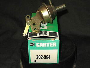 NOS Carter 202-964 Carburetor Choke Pull Off Primary 1983 Pontiac Firebird