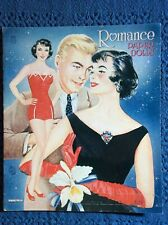 Romance Paper Dolls/Saalfield#2776/Uncu t/Six pages of clothes