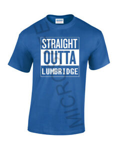 """Funny Novelty Gift Unique Gaming Runescape T-Shirt """"Straight Outta Lumb""""  S - XL"""