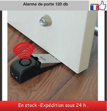 Alarme de porte 120 db coin de porte taquet sécurité