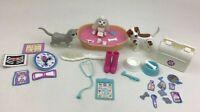 Barbie Pet Doctor Accessories and Animals Lot Pc Mattel Vintage 1995