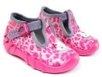 BEFADO girls canvas shoes nursery slippers trainers NEW size 6.5 UK BABY GIRL