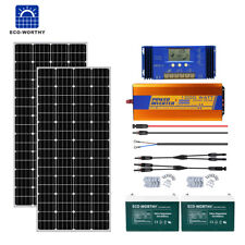400W 800W 1Kw 3Kw Solar Panel Complete Kit 100Ah Battery for Off Grid Rv Home