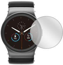 2x Schutzfolie für Uhr 34 mm Durchmesser Displayschutz Folie Displayfolie Klar