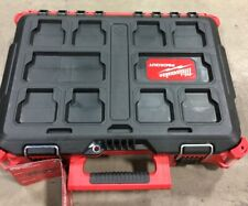 Milwaukee PACKOUT Tool Box 22 in. Modular Storage Organizer Trays Weather Sealed