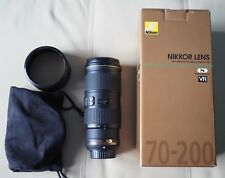 Nikon NIKKOR 70-200mm f/4 G SWM AF-S VR IF SIC N M/A ED Lens NEW/ Retail $1399