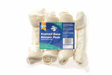Good Boy Knotted Bone Large White 25cm (10'') 4pack
