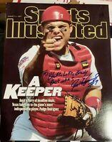 Ivan Pudge Rodriguez Autographed 11x14
