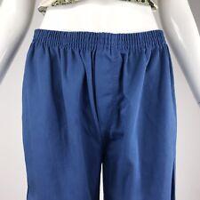 Vintage 70s Unisex Grunge Light Blue Bob Barker Prison Uniform Pants M / L