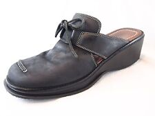Donald Pliner Sport Womens Shoes Black CLOG Slides Mules Size 8M M
