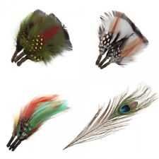 Assorted Plumes Feathers or Peacock Feather Trimits Decoration Craft