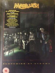 Marillion Clutching at Straws Deluxe Edition 4 cd + 5.1 blu ray live show demos