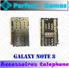 Samsung Galaxy Note 8 N950 Lecteur carte SIM card reader motherboard carte mère
