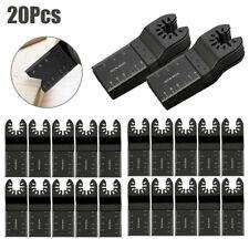 20pcs Oscillating Multi Tool Saw Blade Cutter For Milwaukee Porter Bosch Makita