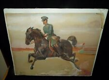 JOHN W. DUNN 1930's ORIGINAL WATERCOLOR 1932 OLYMPICS PAINTING COMPETITION READ!
