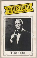 "Perry Como  Playbill 1978  Westbury Music Fair  Skip Stephenson,  ""Good Stuff"""