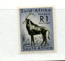 SOUTH AFRICA 1961 1r black and cobalt um/MNH. SG 197. Cat £15