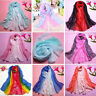 Women Long Neck Large Scarf Wrap Shawl Pashmina Stole Scarve Chiffon Voile Hot