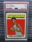 1971-72 Topps Lew Alcindor #100 PSA 3 Bucks Z422