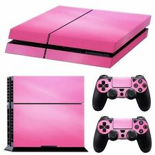 Pink Vinyl Decal Skin Sticker Cover for Ps4 PlayStation 4 Console & 2 Contr G N1