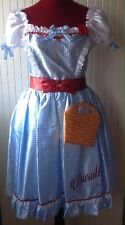 Wizard Of Oz ~ Dorothy Fancy Dress Costume/Dressing Up Outfit ~ Ladies UK 12-14