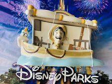2020 Disney Parks Jungle Cruise Skipper Boat Ceramic Cookie Jar Canister