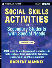 Social Skills Activities for Secondary Students with Special Needs by Darlene...