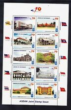 MYANMAR 2007 SG390a Architecture sheetlet - unmounted mint. Catalogue £49