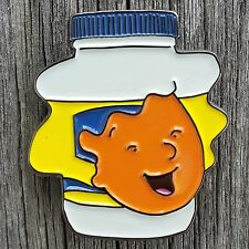 Patti Mayonnaise Enamel Lapel Pin Hellman's Mayo Nickelodeon 90s Dough Retro