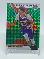 Cameron Johnson 2019-20 Panini Mosaic Debut #265 Rookie RC Green Prizm ( Suns )